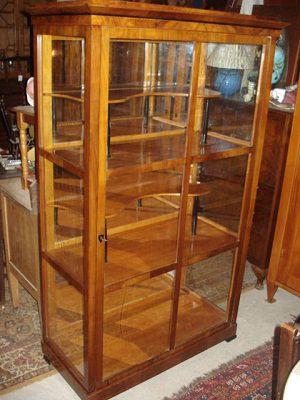 biedermeier vitrinen bei antiquit ten alling biedermeier. Black Bedroom Furniture Sets. Home Design Ideas