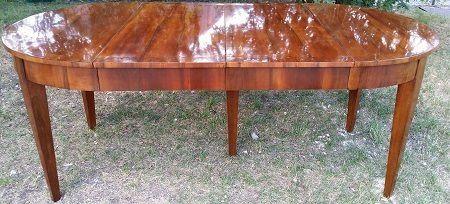 Tische und esstische bei antiquit ten alling biedermeier for Wohnzimmertisch jugendstil